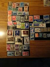 56 - DIFFERENT OLD VINTAGE USED - ROMANIA STAMPS  - FREE SHIPPING - EC