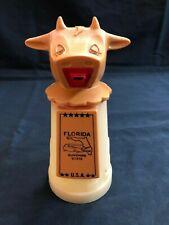 Whirley Industries Moo-Cow Plastic Creamer Milk Kitchen Coffee Vintage Florida