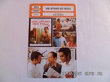 CARTE FICHE CINEMA 2003 UNE AFFAIRE QUI ROULE Clovis Cornillac Denis Podalydes