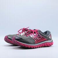 BROOKS Glycerin 14 Anthracite/Azalea/Silver Womens Running Shoes SIZE 9.5 NARROW