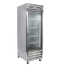 New Maxx Cold Mxcr-23Gd Single Door Glass Reach-in Cooler Refrigerator Maxximum