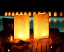 10 Pack Paper Candle Tea Light Lantern Bags Party Wedding Night Camping Garden