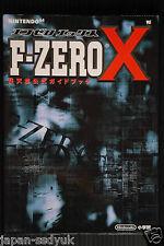 JAPAN F-ZERO X Nintendo Official Guide Book
