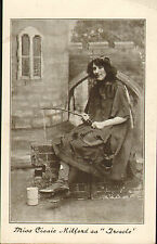 postcard early 1900s : miss cissie - millford as treacle