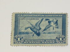US Stamps RW 1 Federal Duck Stamp 1934 Used