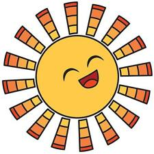 "Imaginisce Endless Summer ""Sun"" Clear Stamp!"