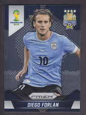 Panini Prizm World Cup 2014 Brazil - Base # 192 Diego Forlan - Uruguay