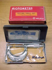 "MITUTOYO TOOLS 0-1"" POINT MICROMETER 112-273 NEW!!"
