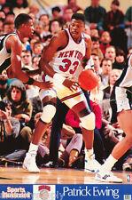 POSTER:NBA BASKETBALL : PATRICK EWING - NY KNICKS - FREE SHIPPING ! #7403 LC20 O