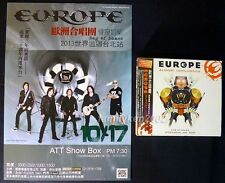 Taiwan CD/DVD Pack + Flyer NEW! EUROPE ALMOST UNPLUGGED Joey Tempest John Norum