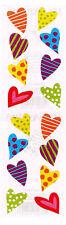 MRS GROSSMANS CHUBBY HEARTS STICKER STRIP BN & NLA