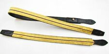 Sword Slings Long & Short RCMP Colour Gold Purple Gold Black Leather - R1040