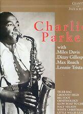 CHARLIE PARKER with miles davis E.A. giants of jazz & blues  GERMAN ex+ lp