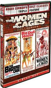 WOMEN IN CAGES COLLECTION (Judy Brown) - DVD - Region 1 Sealed