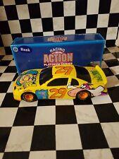 Steve Grissom #29 Flintstones 1/24 Action Black Window Bank NASCAR Diecast