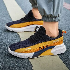 Mens Fashion Casual Athletic Shoe Breathable Walking Running Lightweight Sneaker
