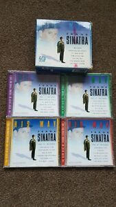4CD COLLECTION - HIS WAY - THE VERY BEST OF FRANK SINATRA - 81 SONGS OVER 4 CD'S
