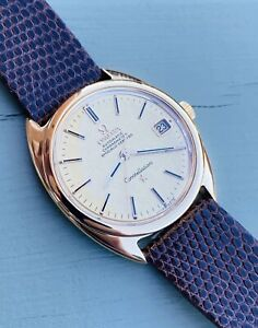 Omega 18ct Gold Constellation- Tonneau- Cal.562- Serviced By Omega 12.4.2021