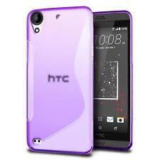 Funda para móvil HTC Desire 820 Cubierta Protectora Silicona BOLSO paragolpes
