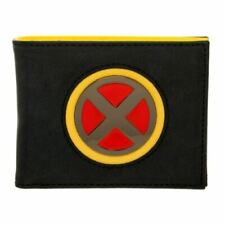 Marvel X-Men Logo Black Bi-Fold Wallet - Wolverine Retro Comics