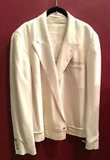 Vintage 90's JEAN PAUL GAULTIER Jacket Blazer Made In Italy Men Linen