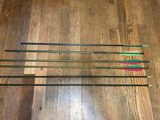 "Lot of 6 Aluminum Arrows 4-30.5'', 1-30"", 1-27"", 4 gamegetter 2118, 1-2117, 1 un"