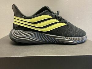 NEW! adidas Originals SOBAKOV SHOES EE4398 Black/Semi Frozen Yellow Size 10