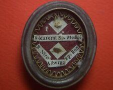 relic reliquary RELIQUIA S.MATERNO DI MILANO VESCOVO + B.NICOLA ALBENGA VESCOVO