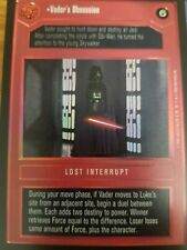 Star Wars CCG BB Premiere Limited Vader/'s Eye NrMint-MINT SWCCG