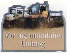 UNIMOG  Pin  Moving mountains