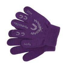 PFIFF gant pour enfants avec impression - Mauve / Violet d'équitation élastique
