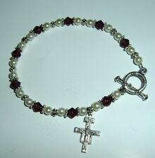CREED SAN DAMIANO BRACELET 7 1/2 in NEW Religious Catholic Franciscan Francis