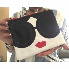 alice + olivia STACEY FACE Clutch Bag Taiwan Vogue Gift Brand New