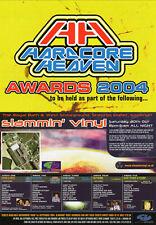 HARDCORE HEAVEN AWARDS 2004 VOTING FLYER Classic Rave Flyer
