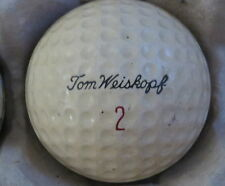 (1) TOM WEISKOPF SIGNATURE LOGO GOLF BALL ( MACGREGOR GOLDEN CORE CIR 1962) #2