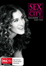 Sex and the City: Season 6 Six - Part 2 - DVD - Region 4 - New