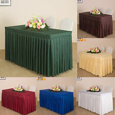 Rectangle Tablecloth Table Cover Elegant Party Theme Dining Meeting Wedding New