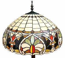 "FL05 Handmade 20"" Symmetrical Design Tiffany Style Floor Light - Home/Xmas Gift"