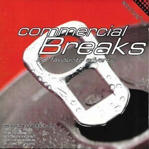 Commercial Breaks (20 Favourite Adverts) - Various Artists (1997 CD Album)