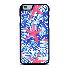 LILLY PULITZER STARFISH iPhone 5 5S 6 6S 7 8 PLUS X XR XS 11 Pro Max Phone Case