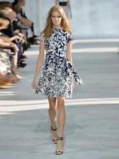 Brand New Diane Von Furstenberg Women's Blue Scarlet Dress