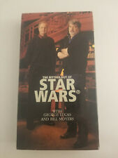 The Mythology of Star Wars Vhs - Rare - George Lucas & Bill Moyers