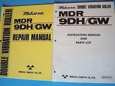 MQ Mikasa MDR 9DH/GW  Instruction Manual and Parts List & Repair Manuals