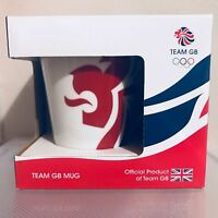 Official London 2012 Olympic Mug.  Various designs. Excellent condition with box