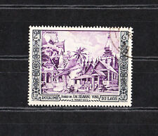 Laos  jubilé de Sisavang Vong 2pi  de 1954  num: 28 oblitéré