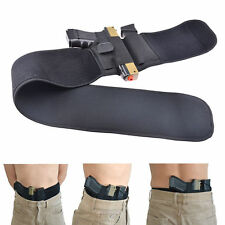 Belly Band Pistol Gun Holster Concealed Carry Belt with Mag Pouch Right Hand