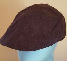 NWT Brown Newsboy Cabby Hat M L Urban Outfitters Felted Wool a53cf307c3e