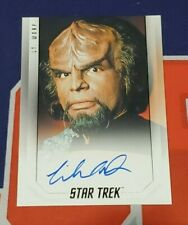 2019 Star Trek Inflexions Bridge Crew Michael Dorn Autograph
