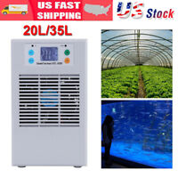100-240V Aquarium Water Chiller Fish Shrimp Tank Cooler Heating Cooling Machine