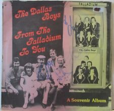 DALLAS BOYS - Souvenir Album ~ VINYL LP SIGNED